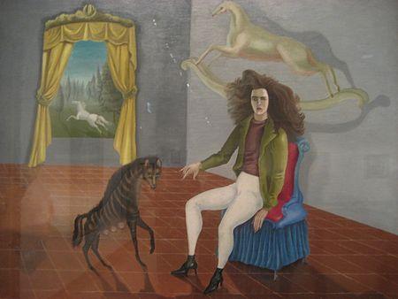 Leonora Carrintonin omakuvana maalaama Self-Portrait (Inn of the Dawn Horse)