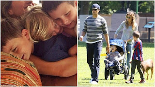 Tom Brady with his family: wife, son and daughter