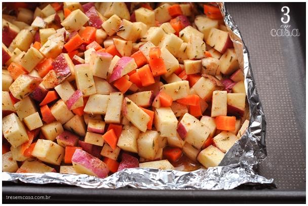 batata doce para churrasco