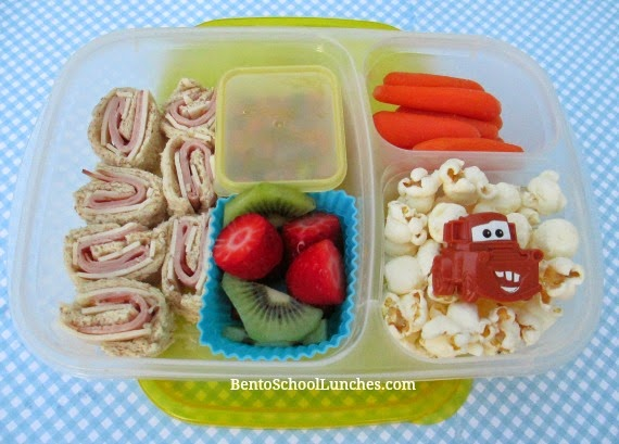 Roll-ups lunch, Quick and Easy bento school lunch