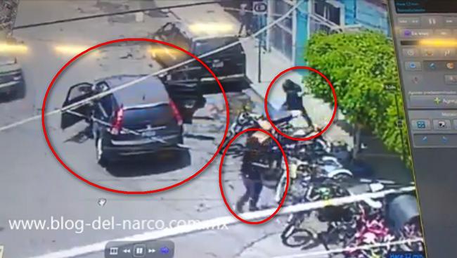 Video: Así fue como los Sicarios de El Marro llegan en una camioneta robada y atacan por segunda vez un taller de bicicletas por no pagar la cuota en Celaya