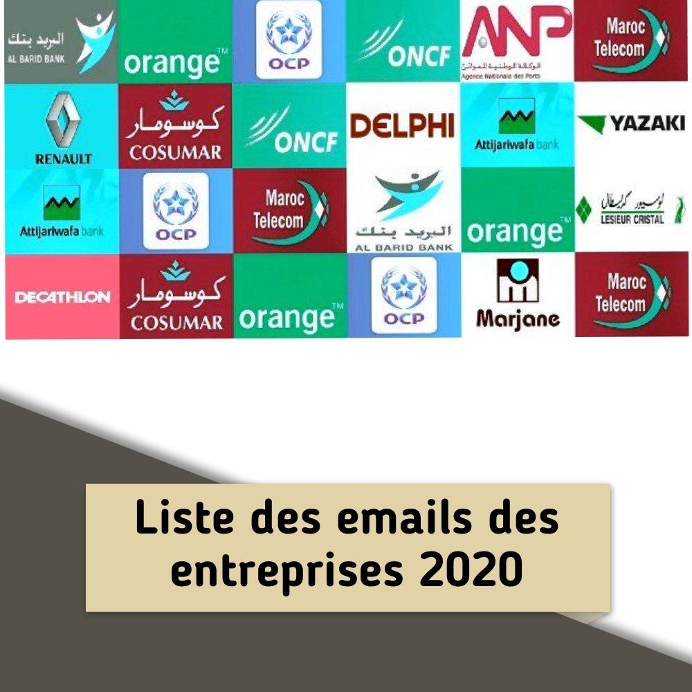 liste_des_emails_des_entreprises_au_maroc_2020