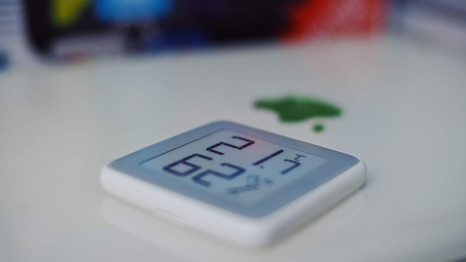 Ein cleveres Gadget hilft bei der Verbesserung der Raumluftqualität | Homidy Hygro- & Thermometer Mijia / Xiaomi