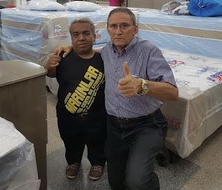 Paulinho da MarinLar apresenta melhora e deve receber alta