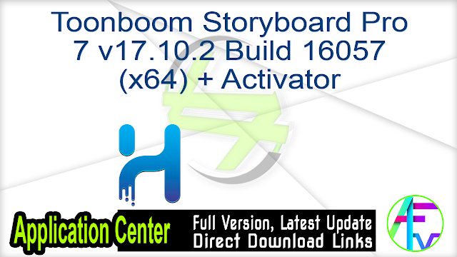 Toonboom Storyboard Pro 7 v17.10.2 Build 16057 (x64) + Activator