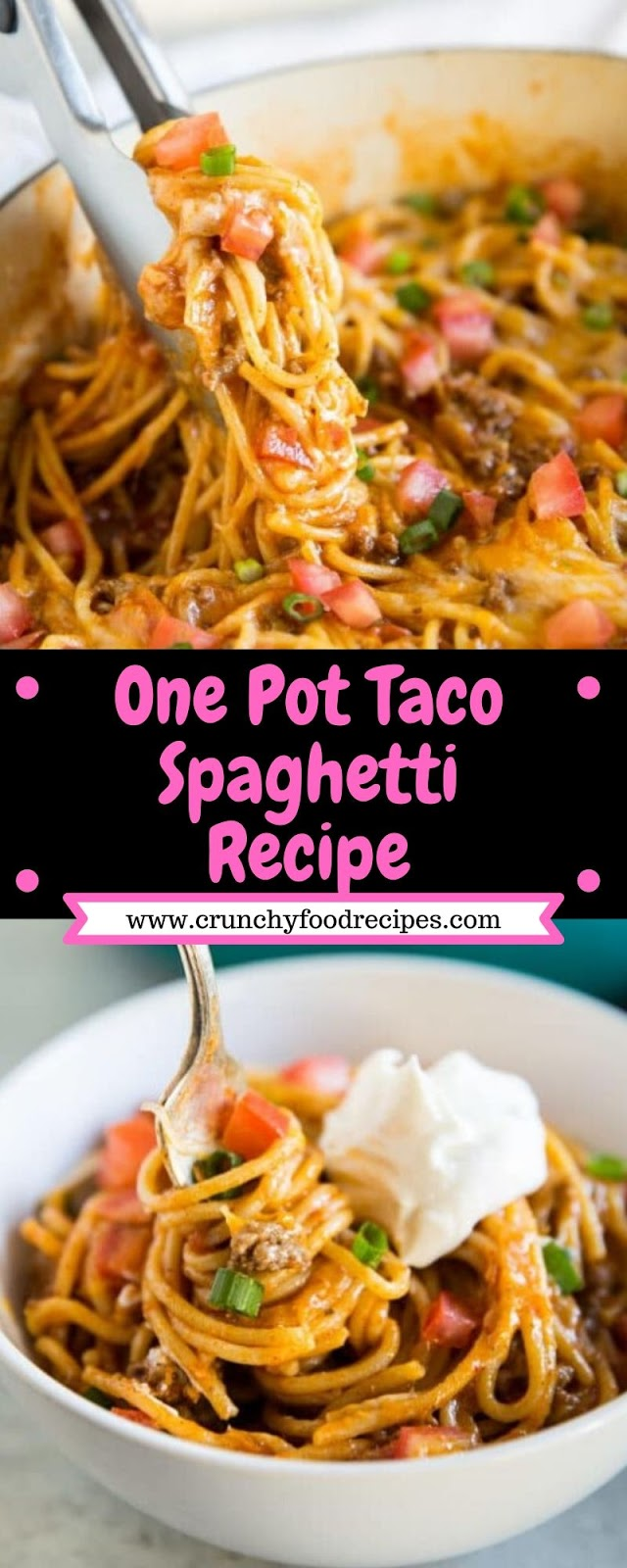 OnePot Taco Spaghetti Recipe
