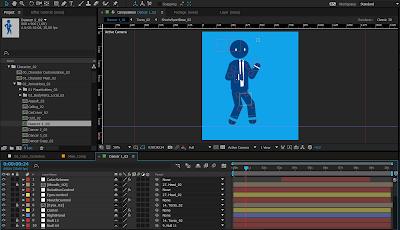 Download Character Stickman City Explainer Video Gratis