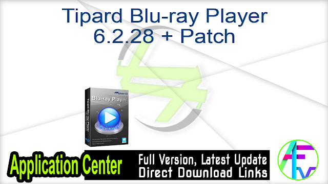 Tipard Blu-ray Player 6.2.28 + Patch