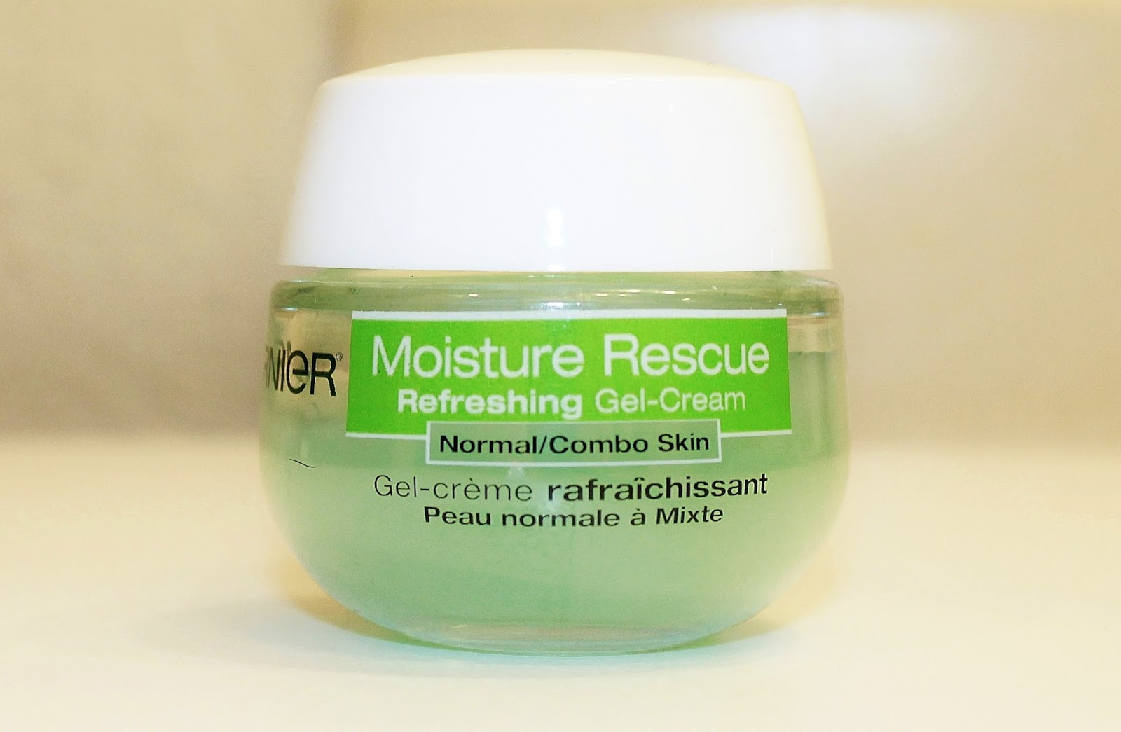 Garnier moisturizing gel