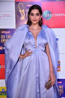 Sonam Kapoor At Zee Cine Awards 2019
