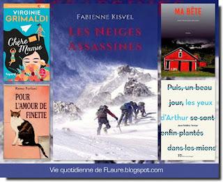 Vie quotidienne de FLaure : Livres présentés pendant les mois de février et mars 2019