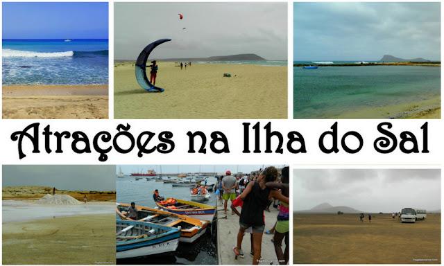 Atrações na Ilha do Sal, Cabo Verde