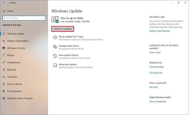 Cara memperbarui driver di Windows 10