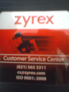 Custumer Service Center Notebook SMK Zyrex