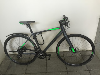 Stolen Bicycle - Cube SL Road Pro