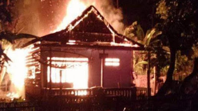 Tidur Pulas Saat Kebakaran, Pemilik Rumah di Barebbo Nyaris Tewas