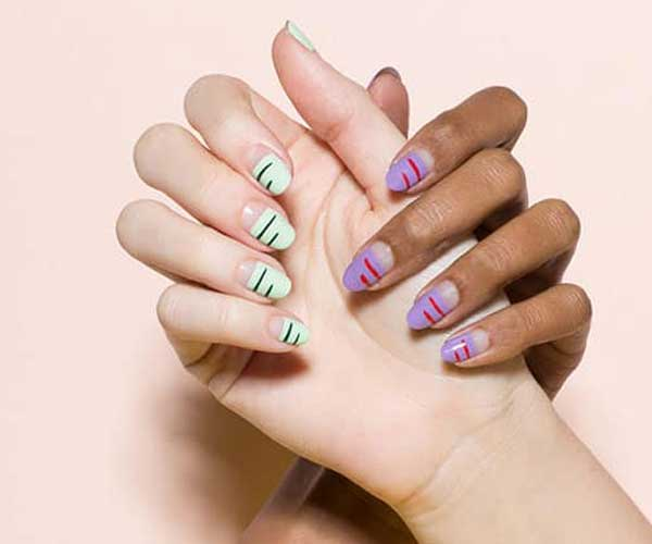 Two Strikes Cute Easy Nail Designs At Home