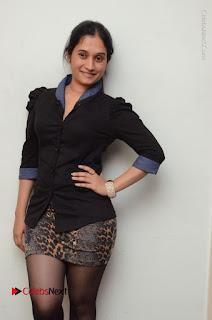 Telugu Actress Priyanka Pallavi Stills in Micro Mini Skirt at Nenosthaa Movie Song Launch at Radio City  0010.JPG
