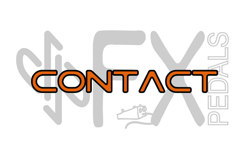 contact dpFX Pedals