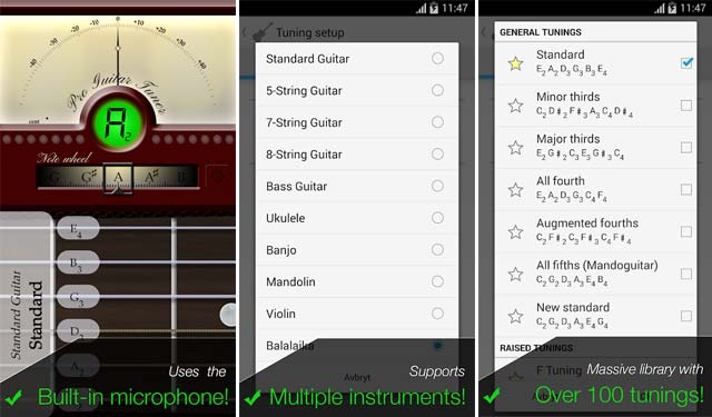 Pro Guitar Tuner Aplikasi Stem Gitar Gratis