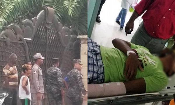 Desalojan Hogar Crea en medio de tiros y bombas en La Vega