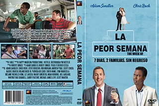 The Week Of - La Peor Semana - Cover DVD