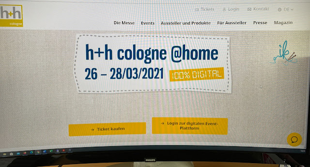 Digitale h+h Handarbeitsmesse in Köln