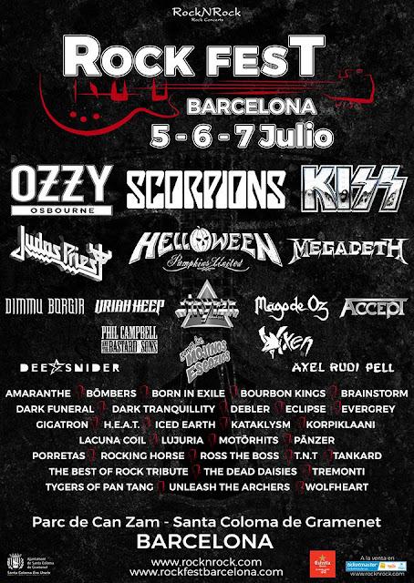 rock fest bercelona 2018