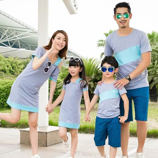 Áo đồng phục gia đình mẫu 8
