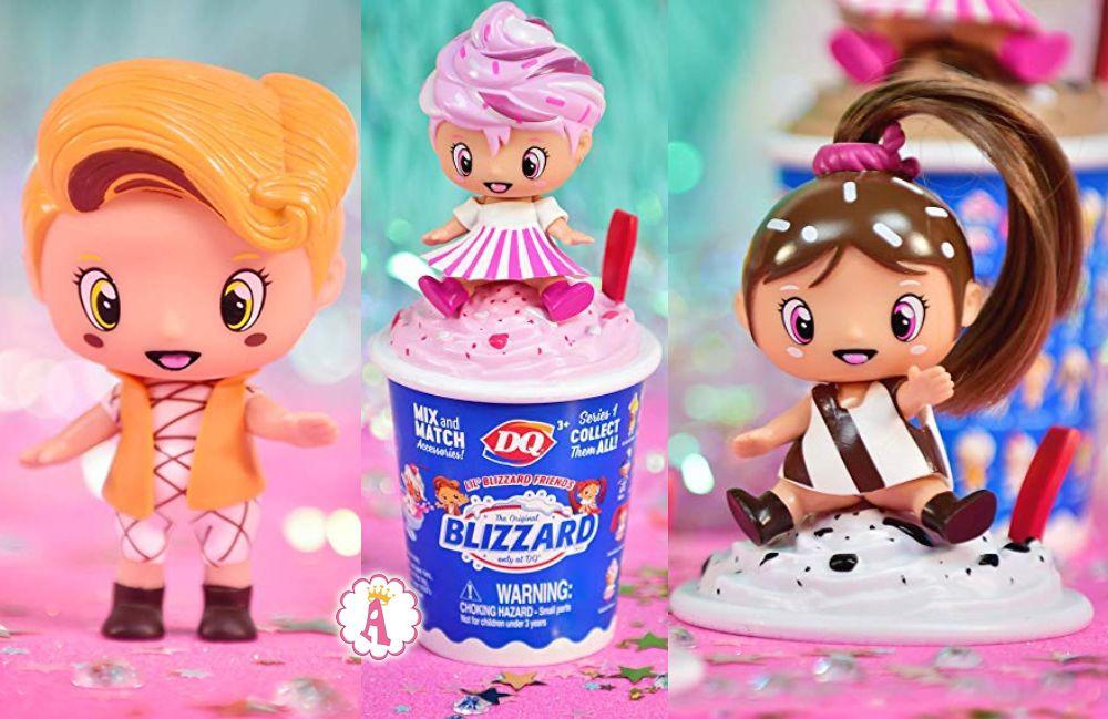 Куклы сюрпризы 2 в 1 Lil Blizzard Friends