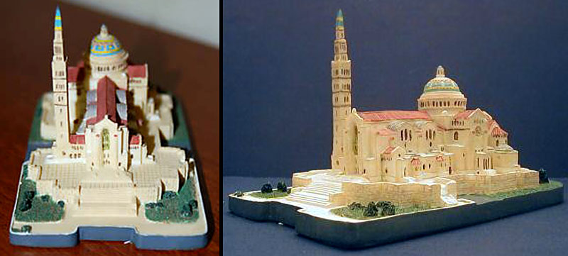 Building Collector Immaculate Conception Church Souvenirs