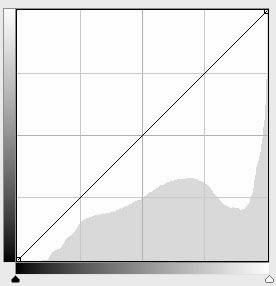 Ylivalottuneen kuvan histogrammi