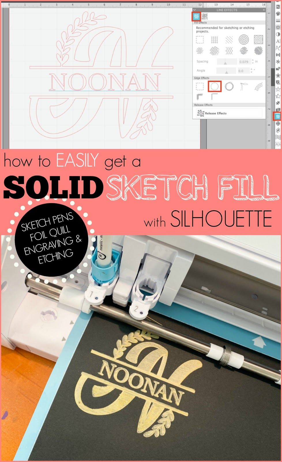silhouette america blog, silhouette 101, foil quill, sketch pens, etching