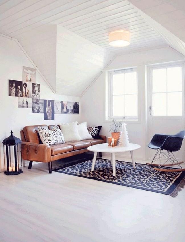 decoración de salas pequeñas modernas