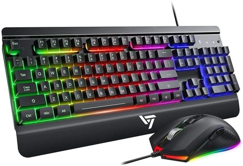 Review VictSing Wired Gaming Keyboard and Mouse Combo