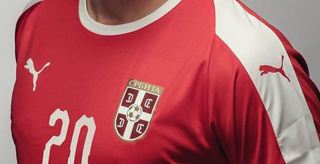 6d5a5a82b Following the release of the new Puma Serbia away kit in March 2018, the Serbia  2018 World Cup home kit has been finally launched.