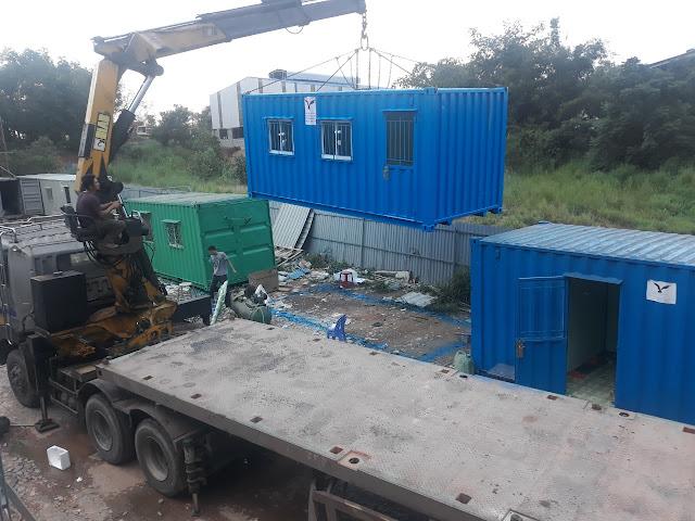 Container Văn Phòng Về  Bình Thuận,