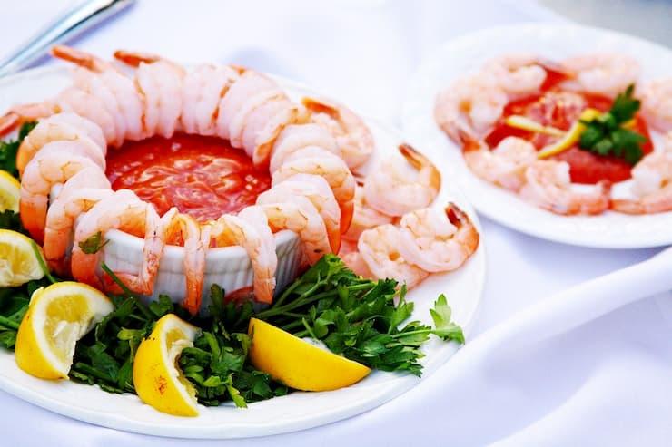 três receitas diferentes com camarão