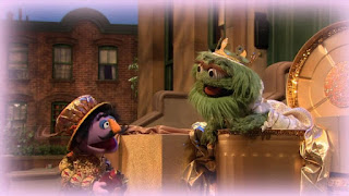 Oscar the Grouch, Sesame Street Episode 4315 Abby Thinks Oscar is a Prince season 43