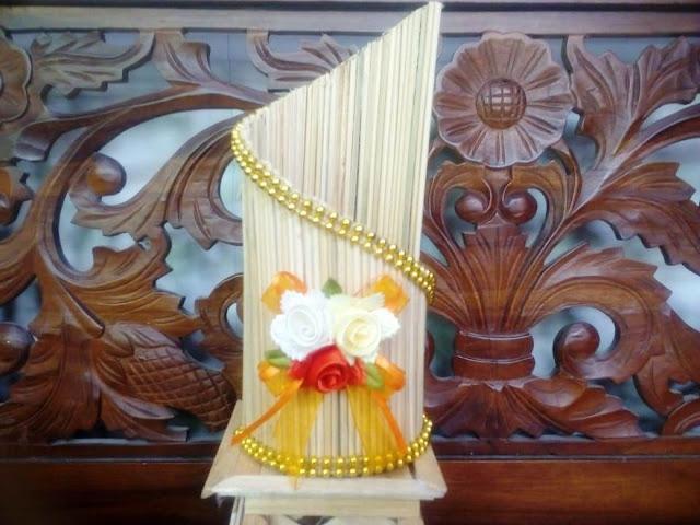 Vas Bunga Bahan Tusuk Sate [Kode : A04]