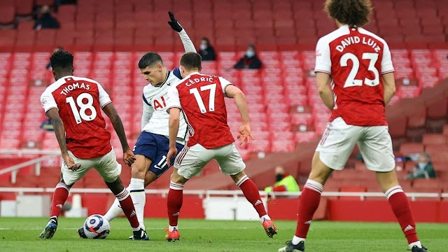 OFFICIAL: Erik Lamela's incredible rabona goal against arsenal wins EPL's Goal of the Season