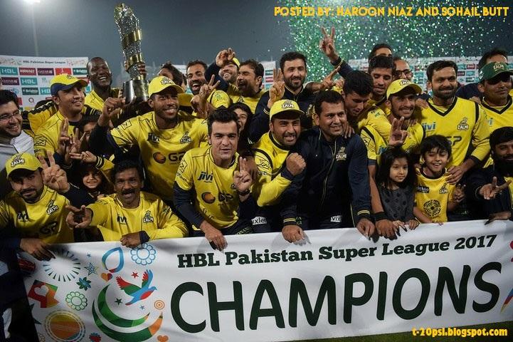 Pakistan Super League (PSL) 4th Edition Basic Schedule Has ...