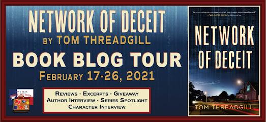 Network of Deceit book blog tour promotion banner