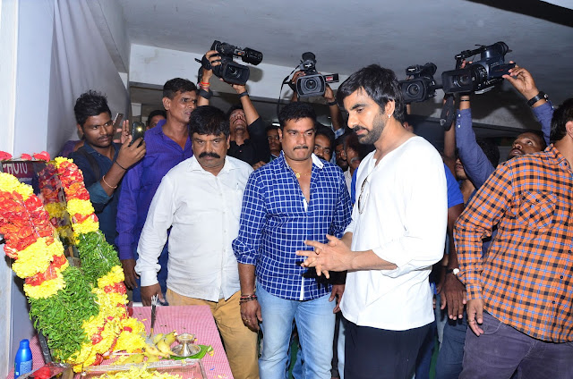 Ravi Teja At Bharath's 11th Day Ceremony HD Pics | Without Watermark