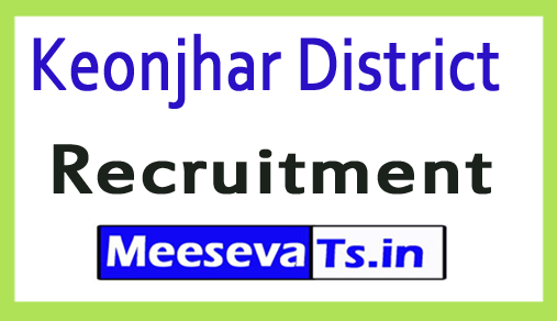 Keonjhar District Recruitment