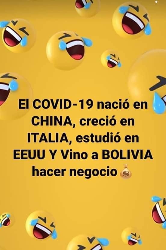 Bolivia Memes: Junio 2020