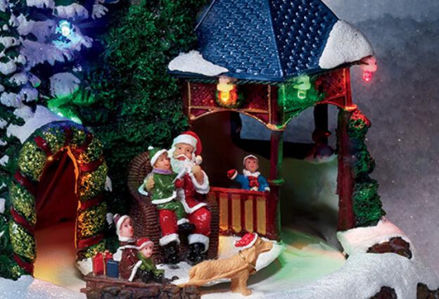 Avon Santa decoration