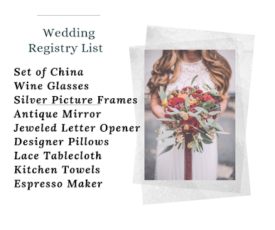 Wedding Soiree Blog by K'Mich, Philadelphia's premier resource for wedding planning and inspiration - wedding registry list - bride on the right with bouquet with lest on the left