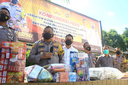 Program Kurma Jaring 48 Motor Balap Liar & Sita 1.619 Kotak Petasan di Mataram