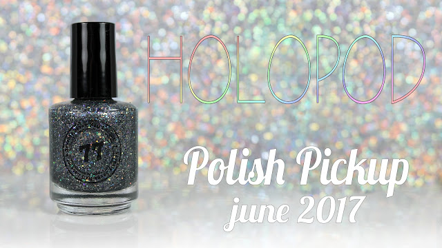 Seventy Seven Nail Lacquer Holopod • Polish Pickup June 2017 • Under The Sea